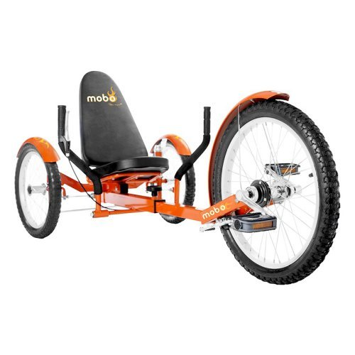 Mobo Triton Pro 20 in. Adult The Ultimate Three Wheeled Cruiser Recumbent Bicycle