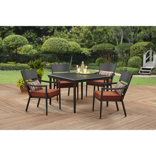 Better Homes and Gardens Amsterdam 5 Piece Cushion Dining Set