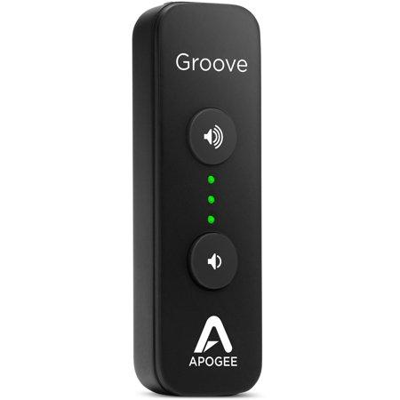 Apogee GROOVE Portable USB DAC and Headphone Amplifier for Mac and (Best Portable Usb Dac)