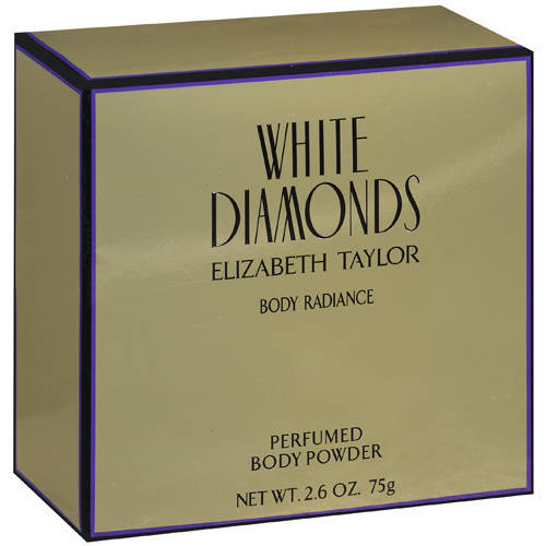 Elizabeth Taylor White Diamonds Dusting Powder, 2.6 oz