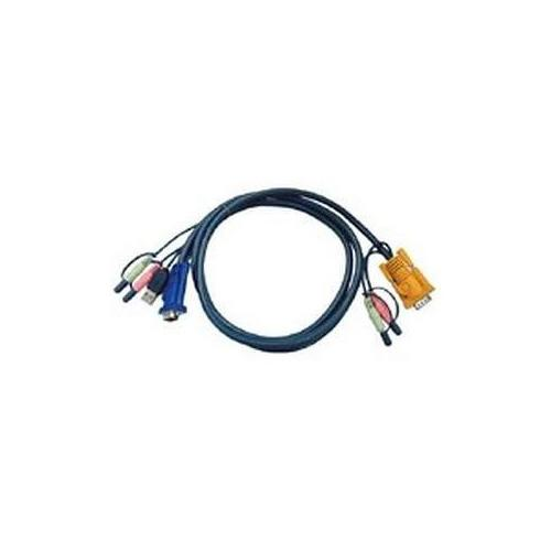 Aten KVM Cable with Audio 2D91003
