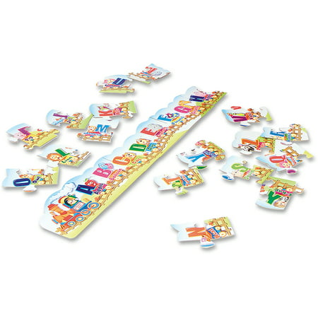 Creativity Street, CKC95173, Alphabet Train Floor Puzzle, 1 Each, Assorted