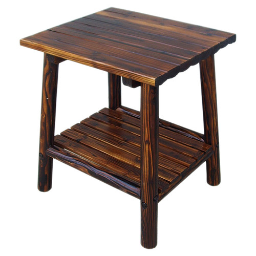 Leigh Country Char Log Side Table