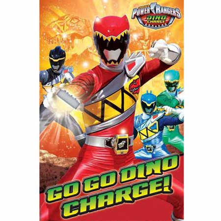 Power Rangers 'Dino Charge' Party Game Poster (1ct) ()
