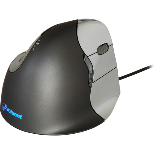 Evoluent VerticalMouse 4 USB Mouse, Right-Handed by Evoluent