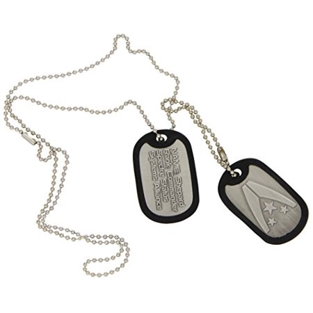 - Mass Effect 3 Dog Tags with Ball Chain - Alliance Logo