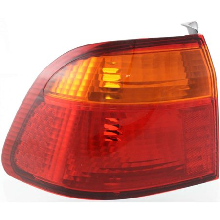 NEW TAIL LAMP LENS AND HOUSING OUTER LH FITS 1999-2000 HONDA CIVIC 33551S04A51