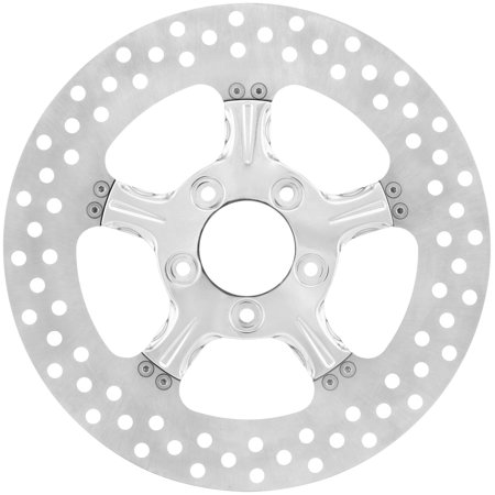 Xtreme Machine 0133-1800XFRS-CH Fierce Brake Rotor - Chrome