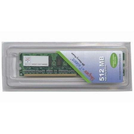 Supertalen D32EA512 Super Talent D400 512MB-64x8 ECC Samsung Chip Server Memory