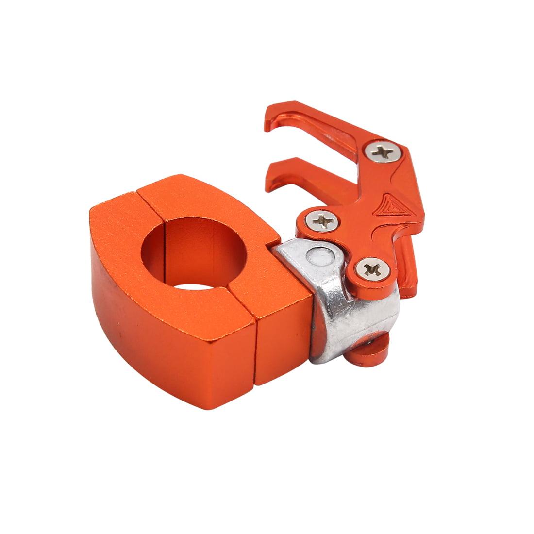"""Orange Eagle Mouth Design Motorcycle Hook Hanger Fit for 7/8"""" Dia Handlebar"""