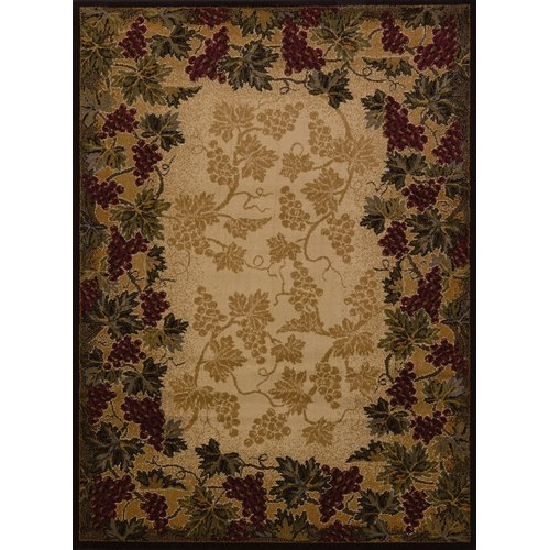 United Weavers of America Affinity Beaujolais Ivory Area Rug