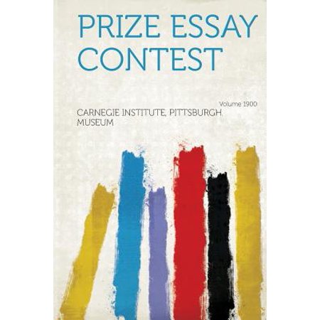 Prize Essay Contest Year 1900