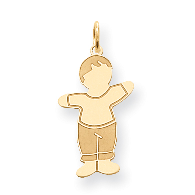 14K Yellow Gold Cuddle Charm - image 2 of 2