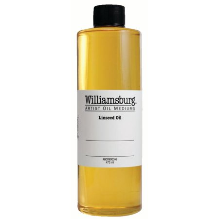 - Williamsburg Handmade Oils Linseed Oil, Pint