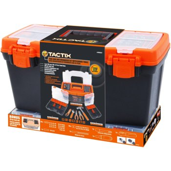 Tactix Toolbox with 47-Piece Tool Set