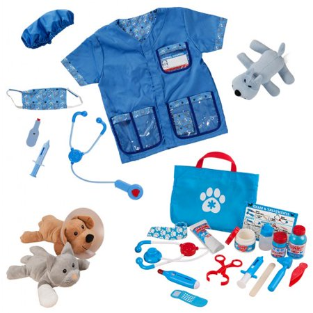 Veterinarian Dress Up & Accessories Playset - Cool People To Dress Up As