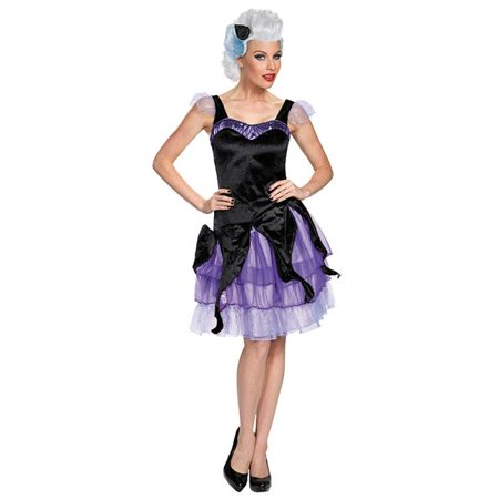 Morris Costumes DG85690N Ursula Deluxe Adult Costume, Size 4-6 for $<!---->