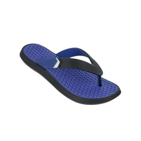 3f4ae5c75e9a89 Rider - Rider Men s R1 Plus Thong Sandal (Blue Size 11) - Walmart.com