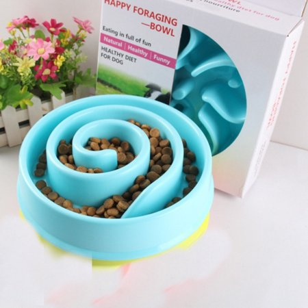 Supersellers Pet Slow Feeder Bowl for Dogs, Interesting Maze Feeder Cultivate Healthy Eating