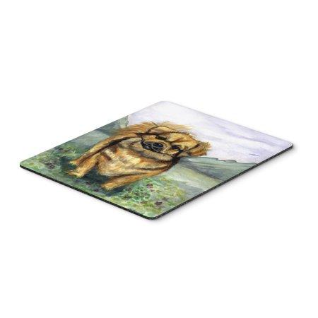 Tibetan Spaniel Mouse Pad, Hot Pad or Trivet