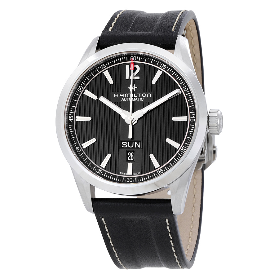 Hamilton Broadway Day Date Automatic Black Dial Mens Watch H43515735 by Hamilton