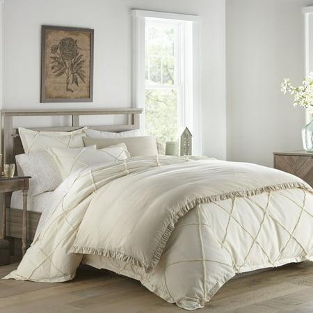 Thea Natural Comforter Set, (Natural Lambskin Comforter)
