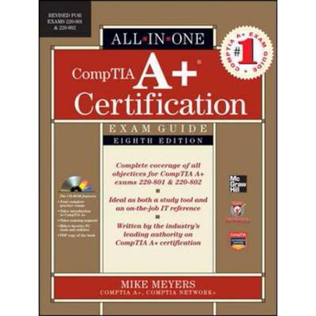 Comptia a certification all in one exam guide by meyers walmart comptia a certification all in one exam guide by meyers fandeluxe Choice Image