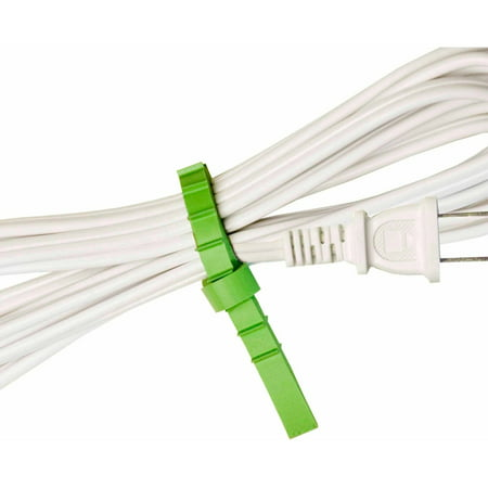 UT Wire Q Knot Original Reusable Cable Ties Cord Wrap