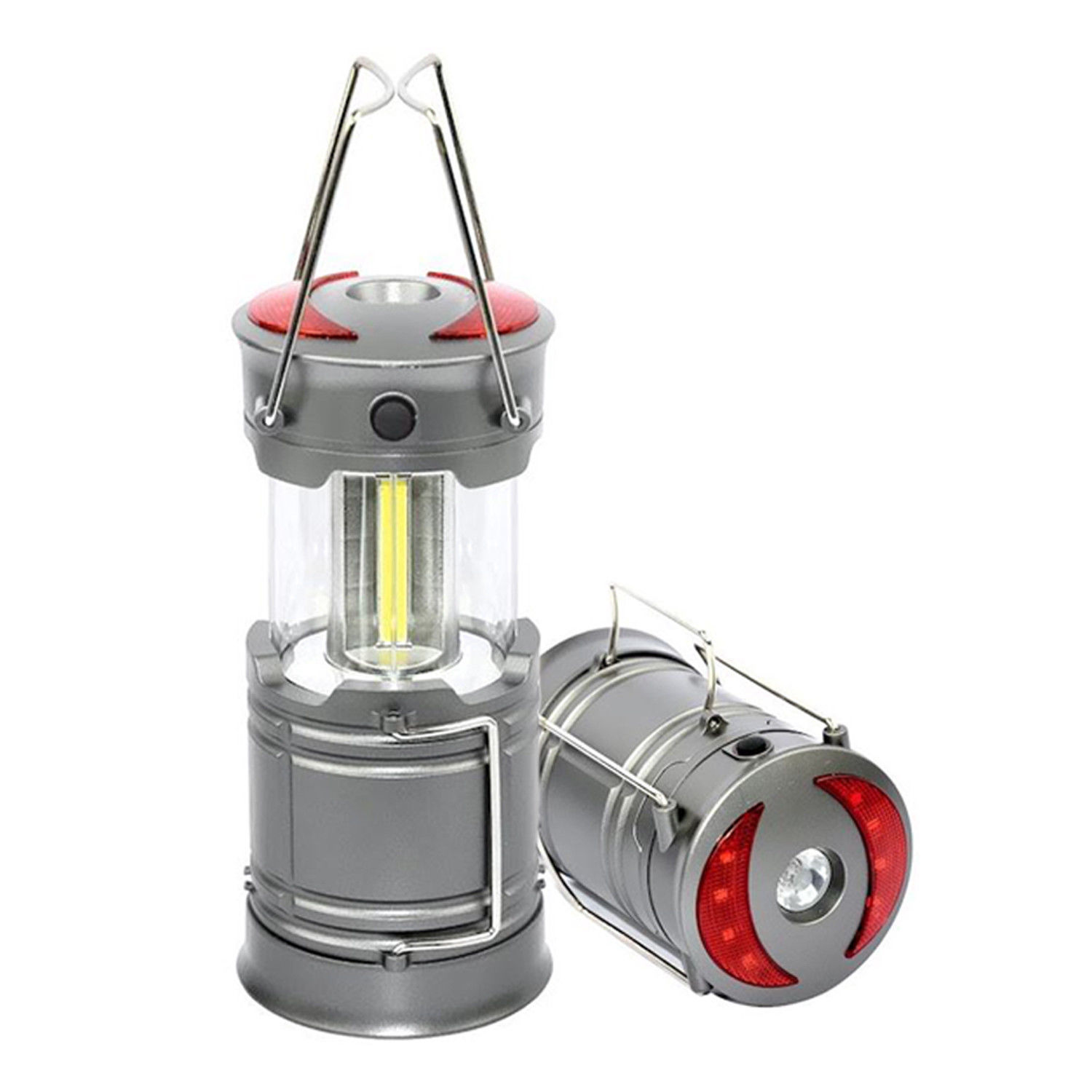 LIVABIT Ultra Bright Portable LED Collapsible Camping Lantern Light Tent Lamp