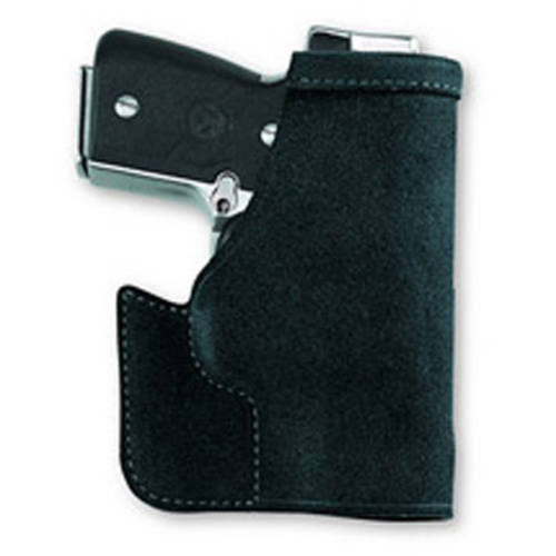Galco Pocket Protector Pocket Holster, Fits Ruger LCP with Crimson Trace, Ambidextrous, Black by Galco