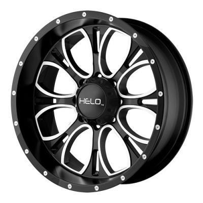 KMC-XD Wheels HE87979068318 XDWHE87979068318 HE879 17x9 6x139.70 GLOSS BLACK MACHINED & MILLED (18 mm)