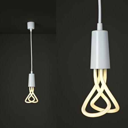 Metal Drop (Plumen Metal Drop Cap Pendant and Designer Low Energy CFL Bulb -)