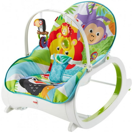 Fisher price infant to toddler rocker for Chaise 4 en 1 fisher price