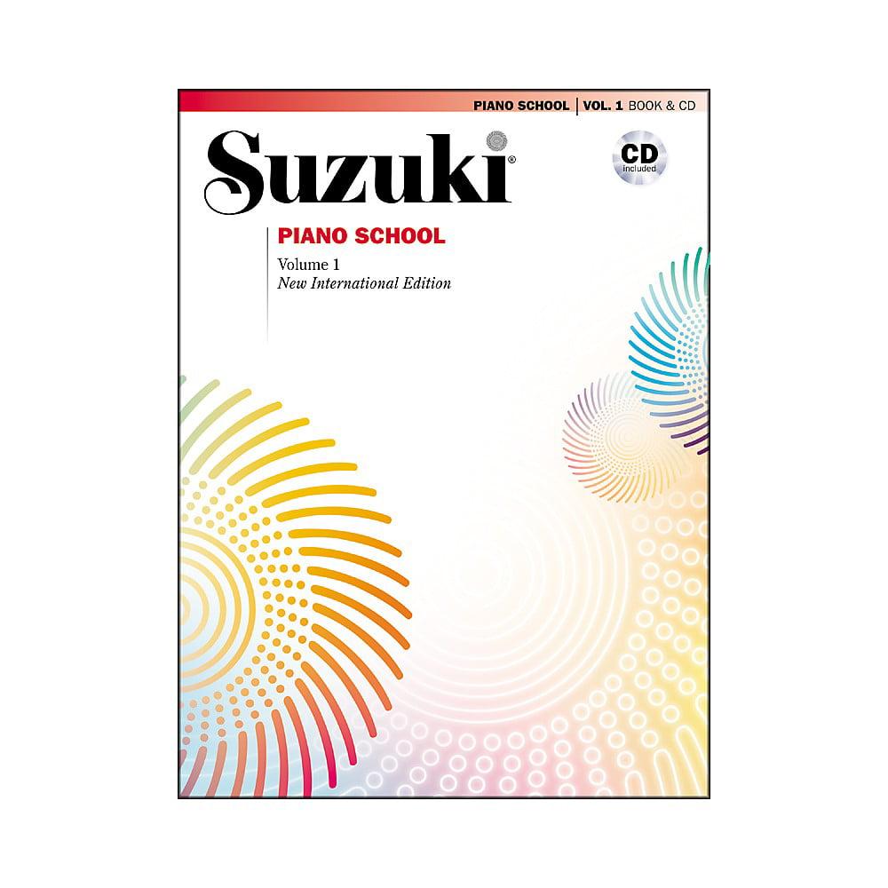 Suzuki Suzuki Piano School New International Edition Piano Book and CD Volume 1