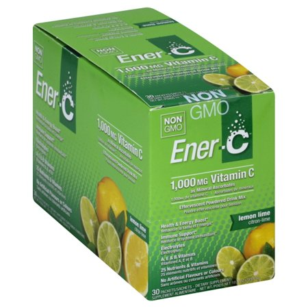 Pauling Labs EnerC  Effervescent Powdered Drink Mix, 30 ea