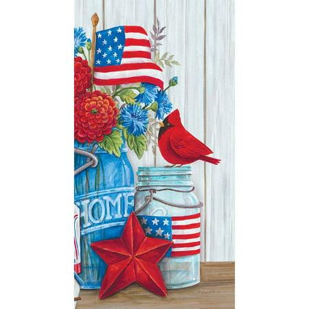 Custom Decor Art Panel - Patriotic Still Life