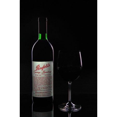 Laminated Poster Wine Red Wine Bottle Wine Glass Wine Bottle Grange