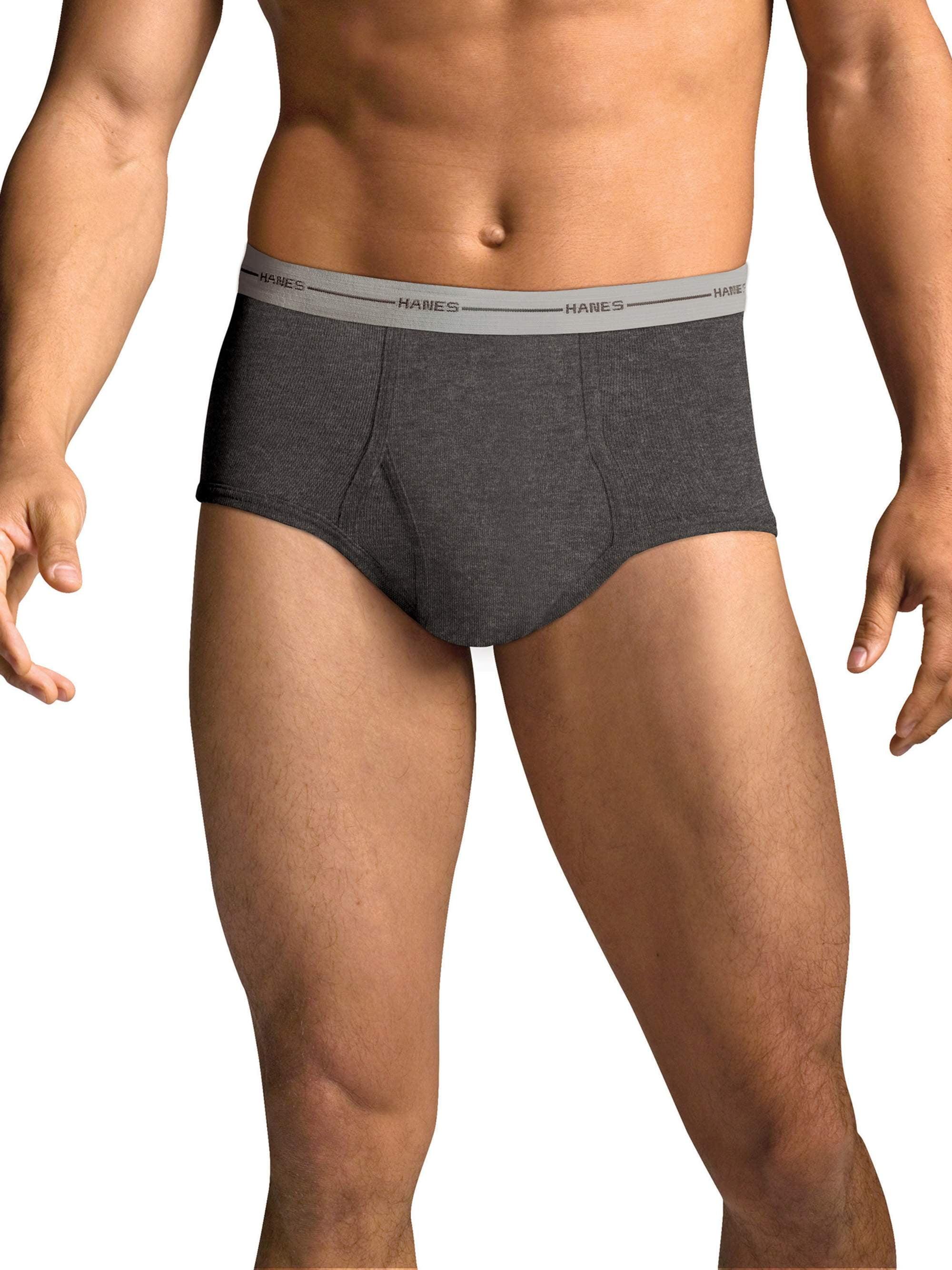 2f46fd04bf6b Men's FreshIQ Comfort Flex Waistband Dyed Briefs, 6 Pack - Walmart.com