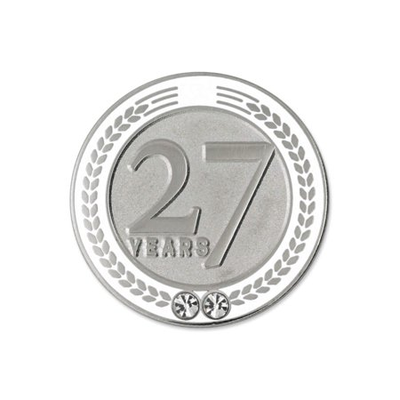 Recognition Gifts (PinMart's 27 Years of Service Award Employee Recognition Gift Lapel Pin -)