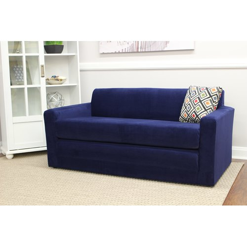 Wrought Studio Pardue Sleeper Loveseat