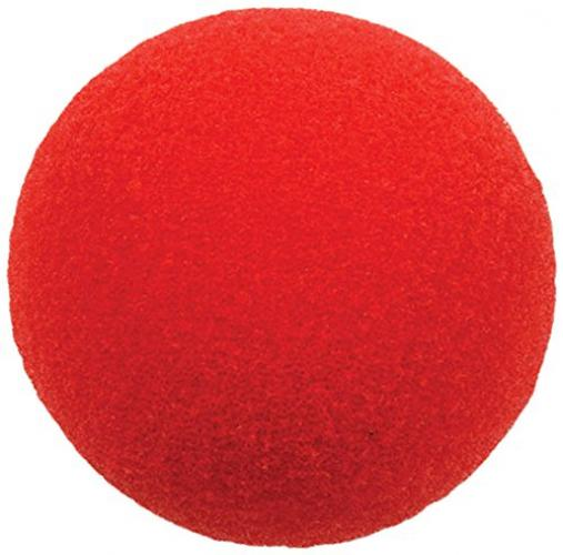 Beistle Clown Nose, Red