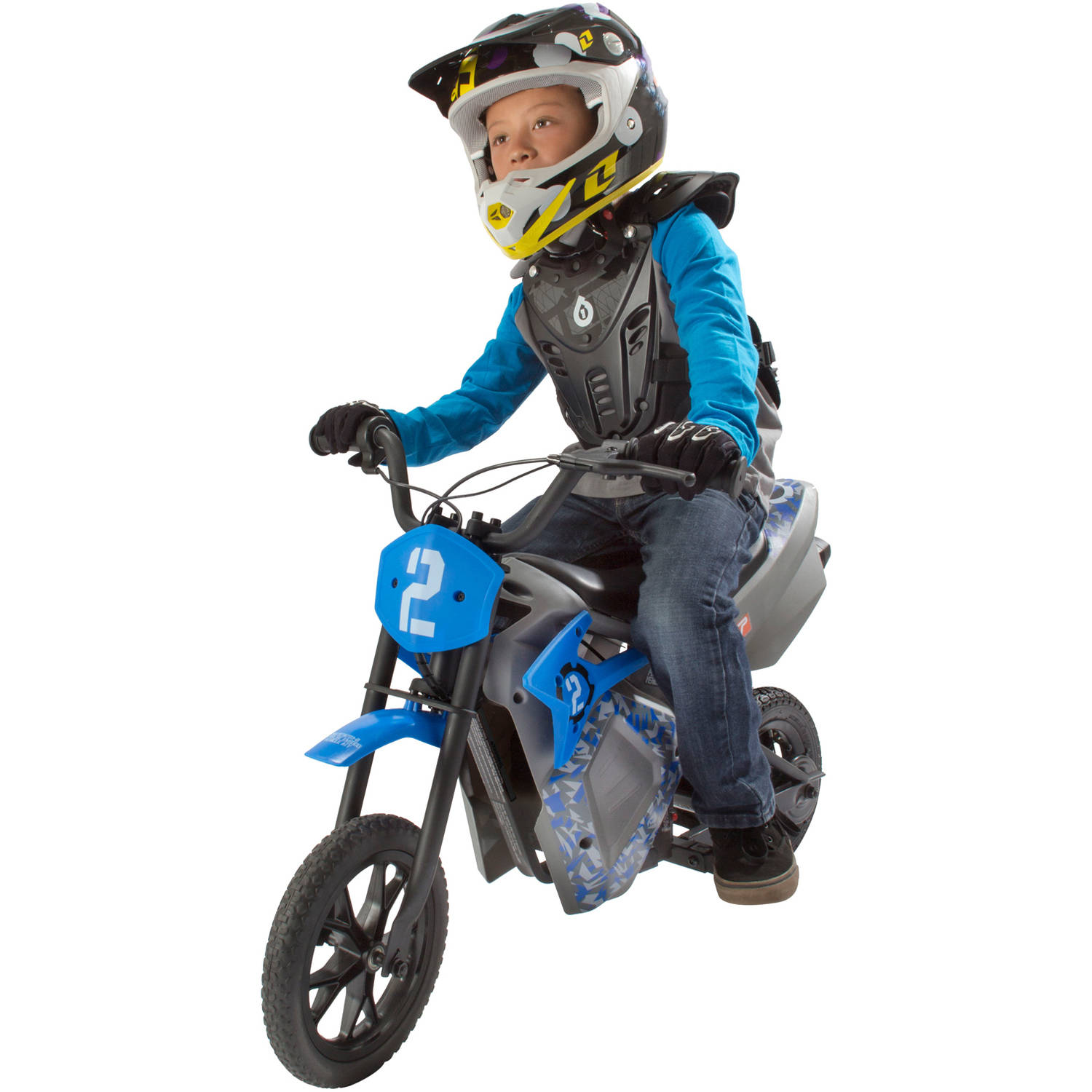 Pulse Performance EM-1000 Electric Dirt Bike, Blue