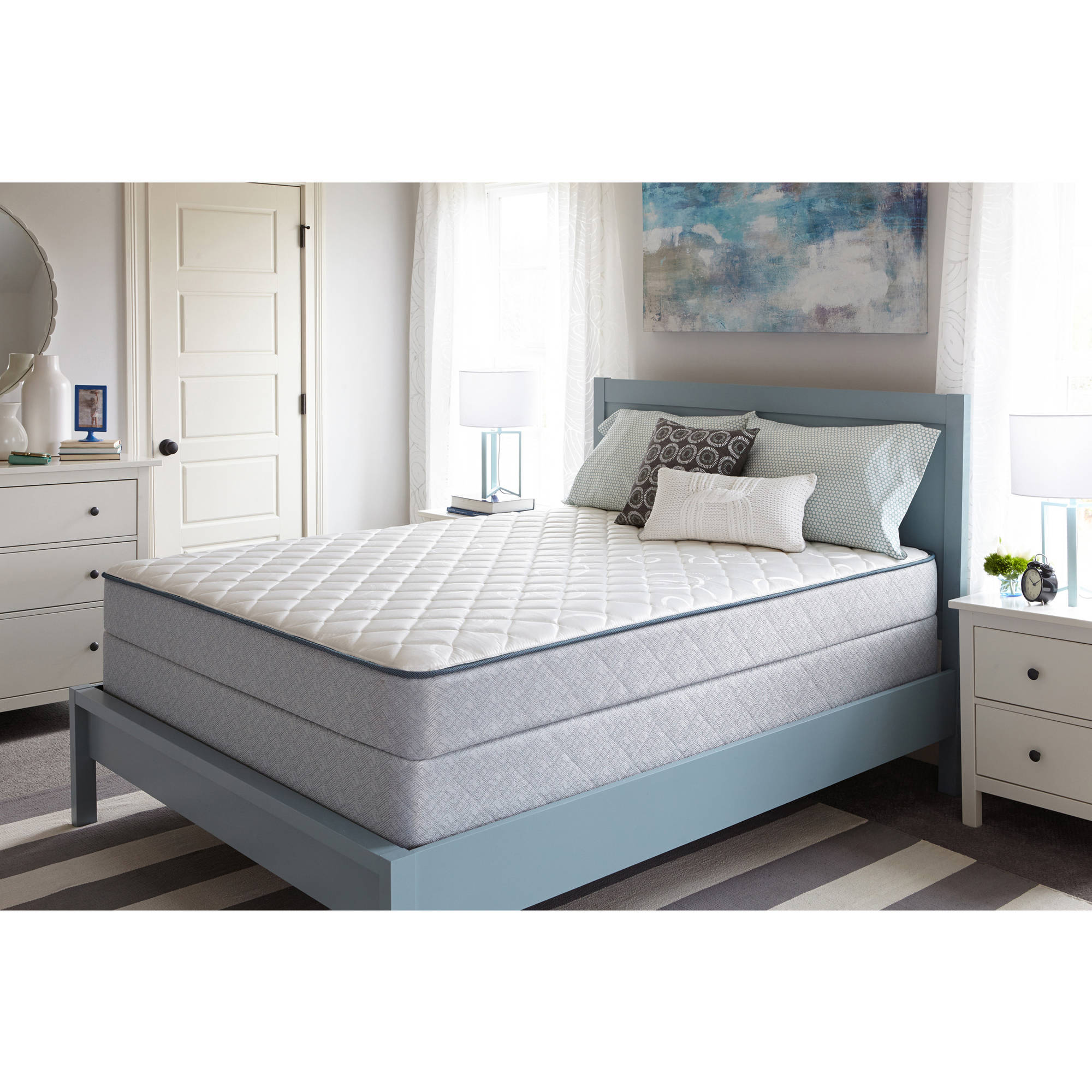 Sealy Brand Firm Fort Thomas Mattress, Multiple Sizes by Sealy