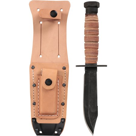 Ontario Knife Company Modified Survival Knife with Sheath (Pathfinder Sheath)