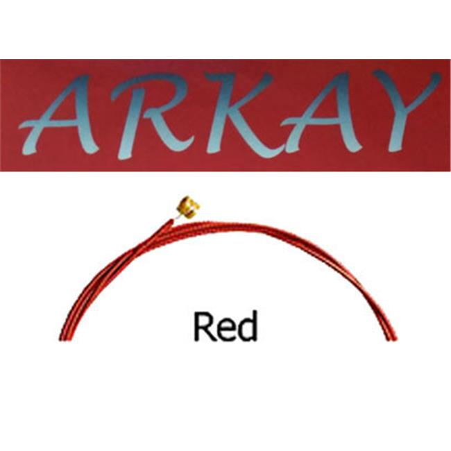 Arkay Discount RK.E12R Standard Electric 12 Gauge Guitar Strings Light, Red - image 1 of 1