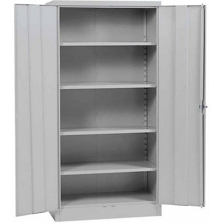 Sandusky Quick Assembly Steel Storage Cabinet - Grey (36