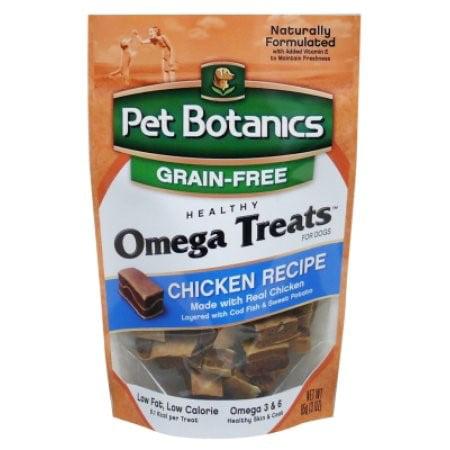 Pet Botanics Grain Free Omega Grain-Free Chicken Dog Treats, 3 (Omega Beef Treats)