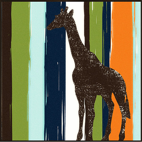 Disney Safari Stripes II Wall Decor