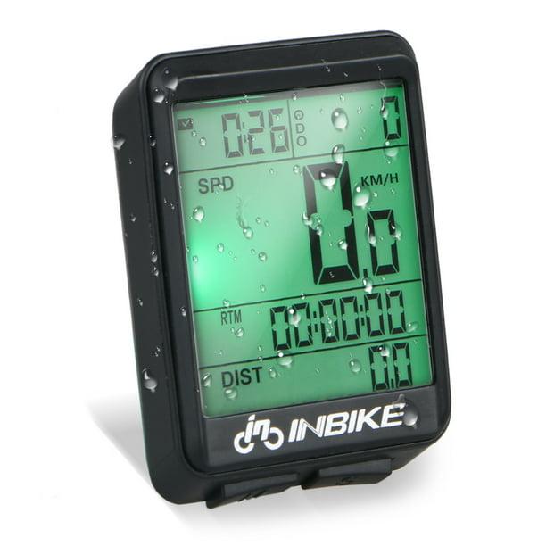 Waterproof Wireless Digital Cycle Bike Computer Bicycle Speedometer Odometer