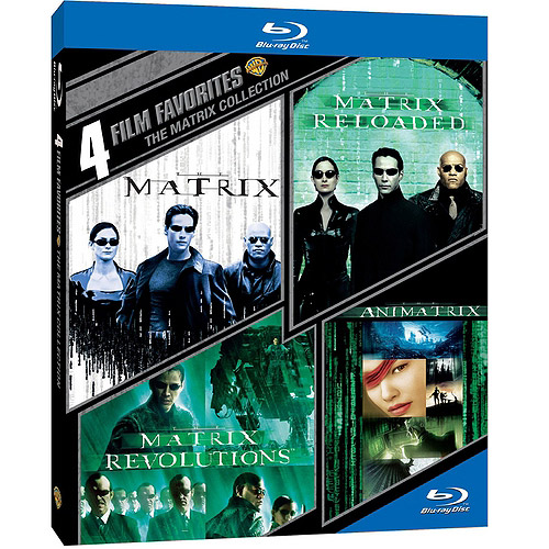 4 Film Favorites: The Matrix Collection - The Matrix / The Matrix Reloaded / The Matrix Revolutions / The Animatrix (Blu-ray) (Widescreen)